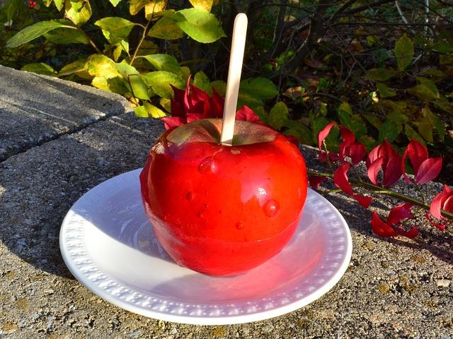 りんご飴1